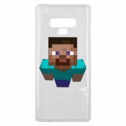 Чехол для Samsung Note 9 Steve from Minecraft