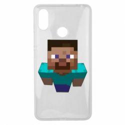 Чехол для Xiaomi Mi Max 3 Steve from Minecraft
