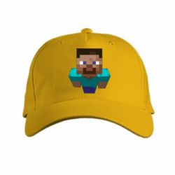 Кепка Steve from Minecraft - FatLine