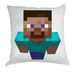 Подушка Steve from Minecraft - FatLine