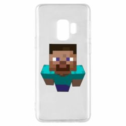Чехол для Samsung S9 Steve from Minecraft