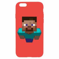 Чехол для iPhone 6/6S Steve from Minecraft