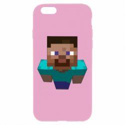 Чехол для iPhone 6 Plus/6S Plus Steve from Minecraft