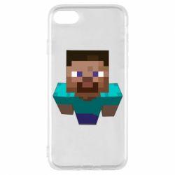 Чехол для iPhone 7 Steve from Minecraft