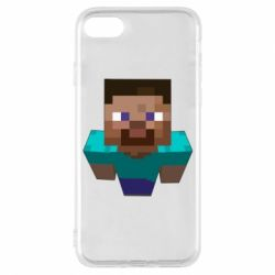 Чехол для iPhone 8 Steve from Minecraft
