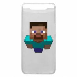 Чехол для Samsung A80 Steve from Minecraft