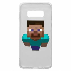 Чехол для Samsung S10e Steve from Minecraft
