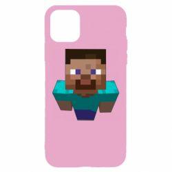 Чехол для iPhone 11 Steve from Minecraft