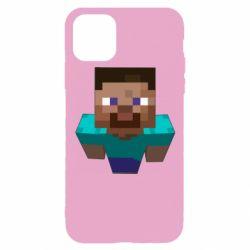 Чехол для iPhone 11 Pro Steve from Minecraft