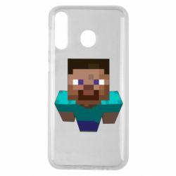 Чехол для Samsung M30 Steve from Minecraft
