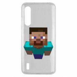 Чехол для Xiaomi Mi9 Lite Steve from Minecraft