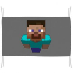 Флаг Steve from Minecraft