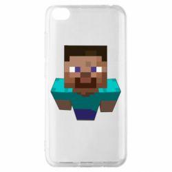 Чехол для Xiaomi Redmi Go Steve from Minecraft