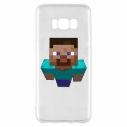 Чехол для Samsung S8 Steve from Minecraft