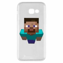 Чехол для Samsung A5 2017 Steve from Minecraft