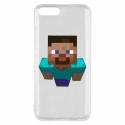 Чехол для Xiaomi Mi6 Steve from Minecraft