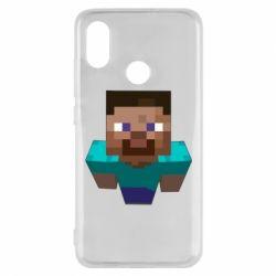 Чехол для Xiaomi Mi8 Steve from Minecraft