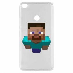Чехол для Xiaomi Mi Max 2 Steve from Minecraft