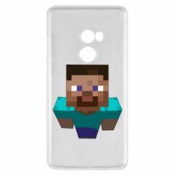 Чехол для Xiaomi Mi Mix 2 Steve from Minecraft