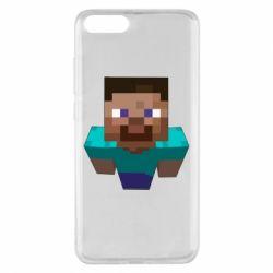 Чехол для Xiaomi Mi Note 3 Steve from Minecraft