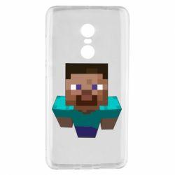 Чехол для Xiaomi Redmi Note 4 Steve from Minecraft