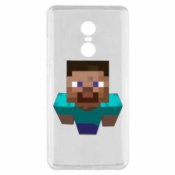 Чехол для Xiaomi Redmi Note 4x Steve from Minecraft