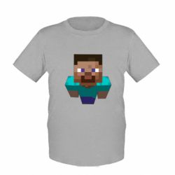 Детская футболка Steve from Minecraft - FatLine