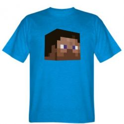 Мужская футболка Steve Minecraft - FatLine