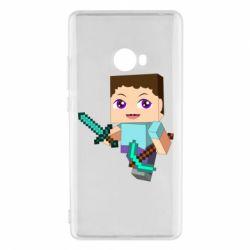 Чехол для Xiaomi Mi Note 2 Steve minecraft