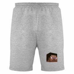 Мужские шорты Steve Minecraft - FatLine