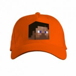 Кепка Steve Minecraft - FatLine