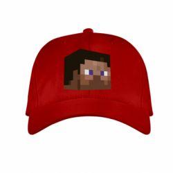 Детская кепка Steve Minecraft - FatLine