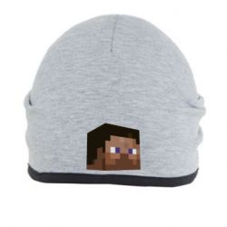 Шапка Steve Minecraft - FatLine