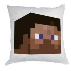 Подушка Steve Minecraft - FatLine