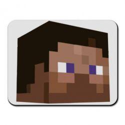 Коврик для мыши Steve Minecraft - FatLine