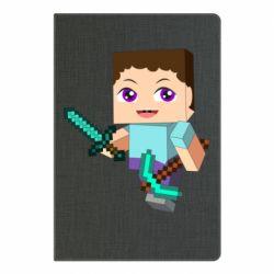 Блокнот А5 Steve minecraft