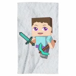 Полотенце Steve minecraft