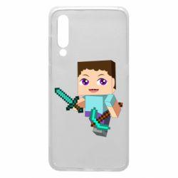 Чехол для Xiaomi Mi9 Steve minecraft