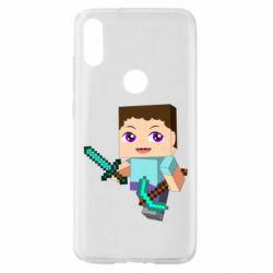 Чехол для Xiaomi Mi Play Steve minecraft