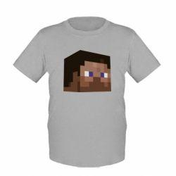 Детская футболка Steve Minecraft - FatLine