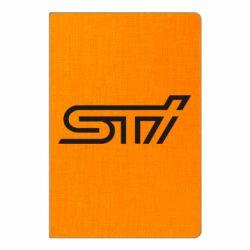 Блокнот А5 STI Logo