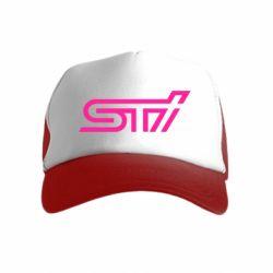 Детская кепка-тракер STI Logo