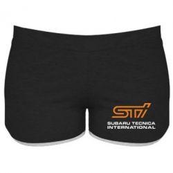 Женские шорты STI - FatLine