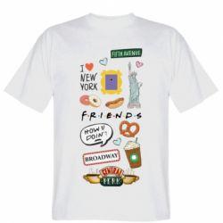 Чоловіча футболка Sticker New York