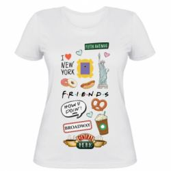 Жіноча футболка Sticker New York