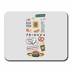 Килимок для миші Sticker New York