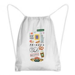 Рюкзак-мішок Sticker New York