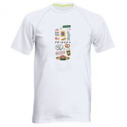 Чоловіча спортивна футболка Sticker New York