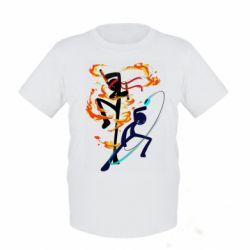 Дитяча футболка Stickman