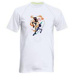 Чоловіча спортивна футболка Stickman